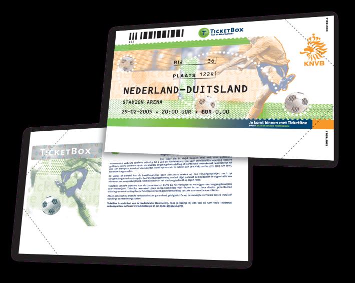 Ticketbox-Oranje