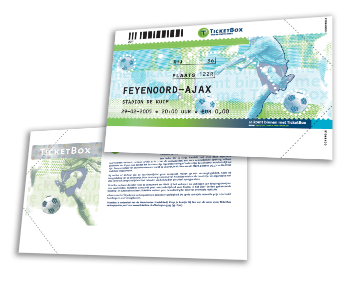 Ticketbox-Voetbal