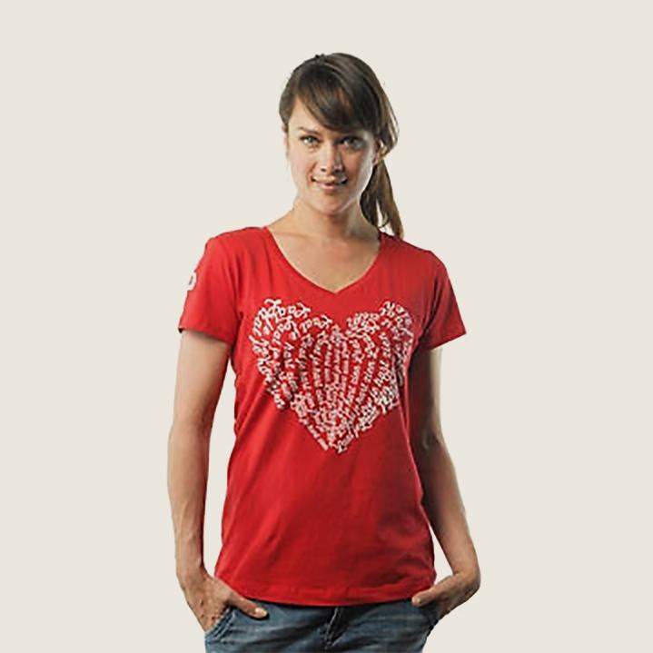 dress red tshirt