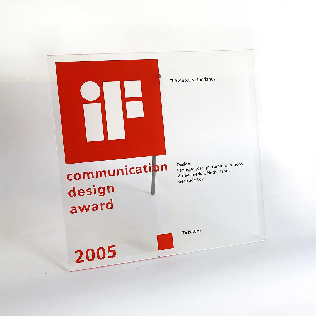 Gertrude Lok IF Design Award