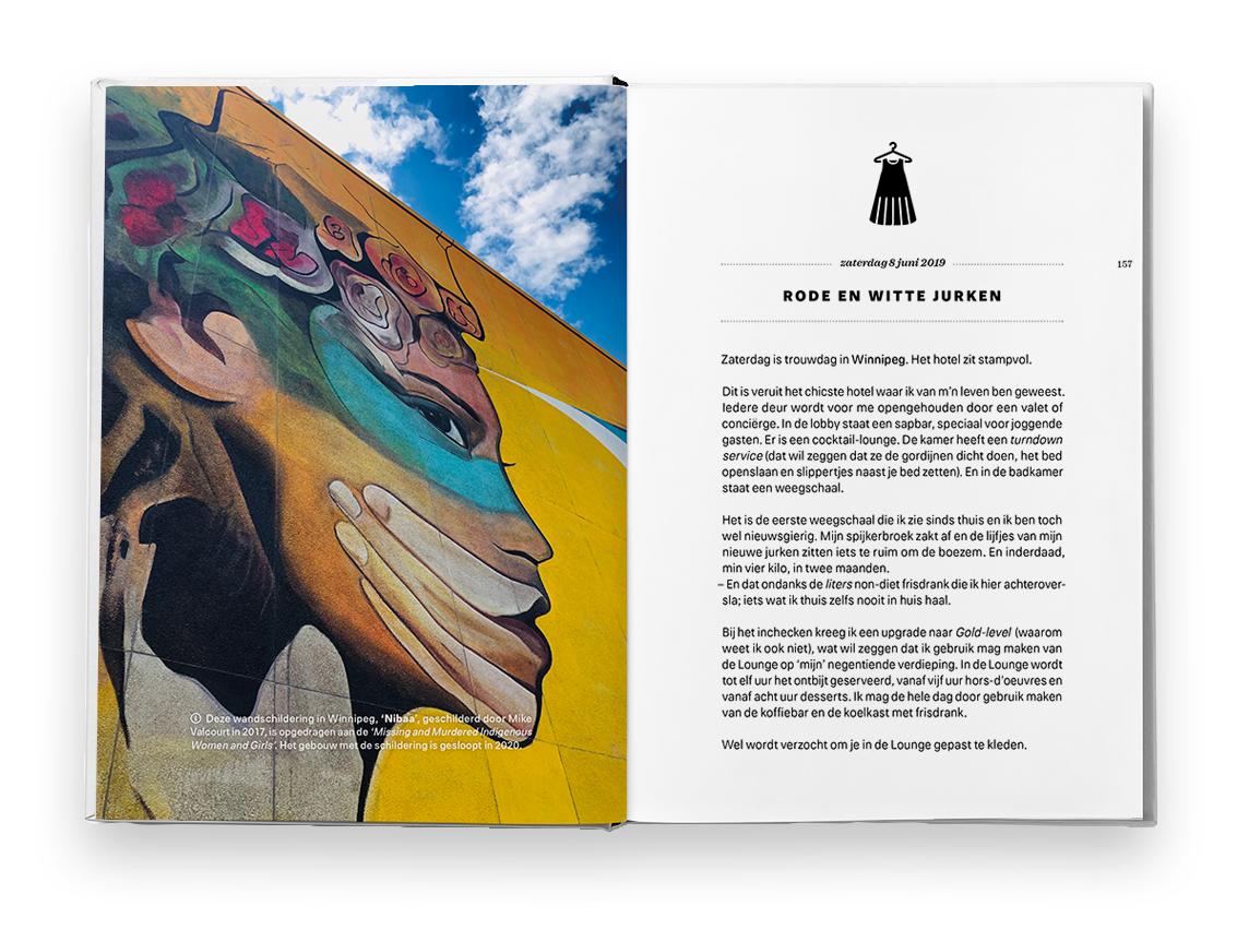 Walkabout boek Winnipeg