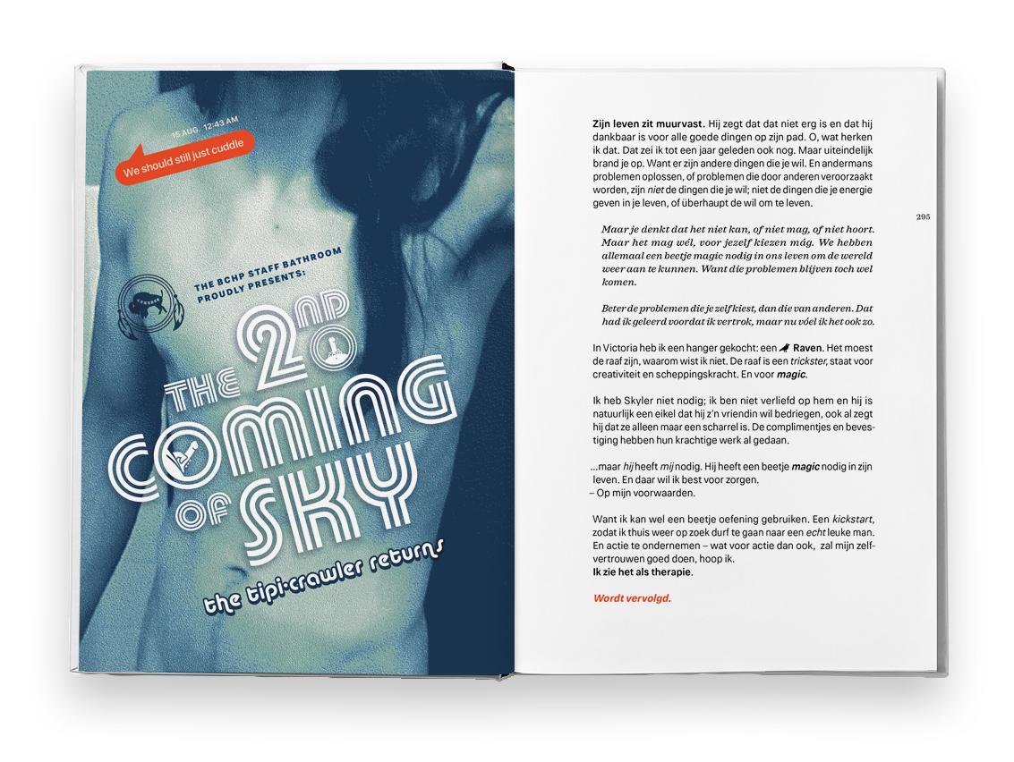 Walkabout book spread Skyler Bearchief
