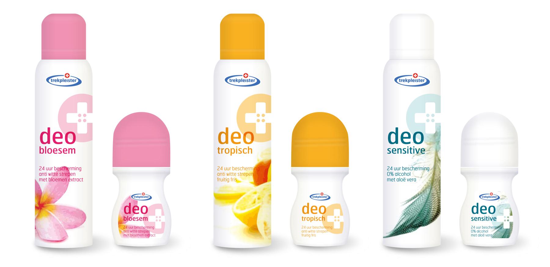 trekpleister deodorant